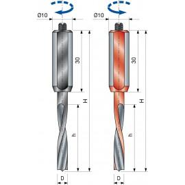 Vrták kolíkovací nepriechodzí PF26M