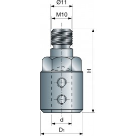 Redukcia 41mm MP01M