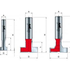 Fréza na cylindrické drážky 70-, 52-